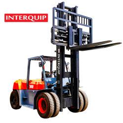 Serviço Pesado Interquip 10 toneladas carro diesel FD100 estável e durável