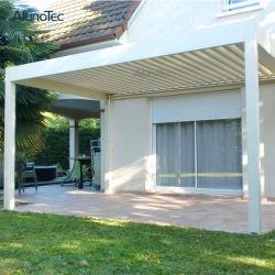여가 제품은 알루미늄 지붕 미늘창 옥외 가구 Pergola를 방수 처리한다