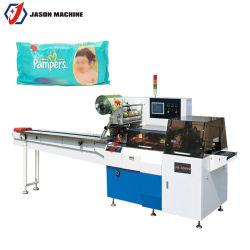 Alavanca de velocidades automática Adulto Molhado Facial Tecido de papel da máquina de embalagem