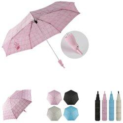 3 Manuel de repliage d'ouvrir mignon Parapluie Dame de la poignée de la mode
