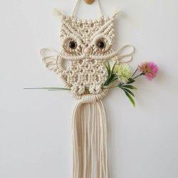 Ручная работа Owls Богемского гобелен на стене висел хлопка гобелен идеально подходят для детей спальни