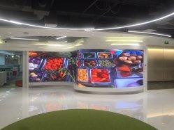 Display de LED RGB para interiores P4mm Pantalla flexible