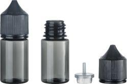 R30ml プラスチックペット 05 透明 E リキッドメカニカルスポイト包装 スクリューキャップ付きボトル