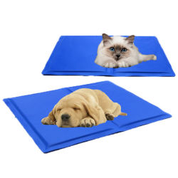 Пэт-Dog самостоятельного охлаждения коврик для питомников, ящики, кровати или автомобильное кресло, летом собака охлаждения коврик для собак Cool Anti-Overheated
