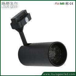 LEIDENE van de Fabrikant van China van de Regelbare 15W LEIDENE van het Aluminium het Lichte Zwarte van de Lamp Licht van het Spoor