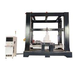 Hochleistungssteinstatue, Skulptur, Abbildung, Buddha CNC-Gravierfräsmaschine 5axis 4axis, mit vertikalem Ratory und sah Prägegerät