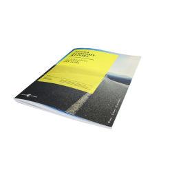 Preiswertes professionelles überzogenes Papierbuch-Katalog-Broschüre-Drucken