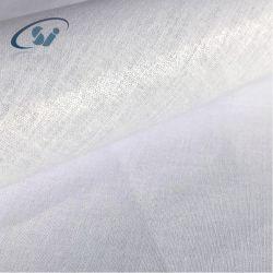 100% coton tissé enduit d'interligne de fusible en PEHD pour vêtement C3068