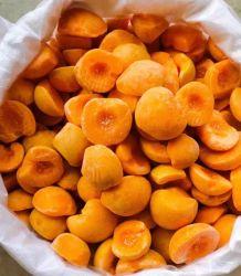 Fabricación y la fábrica pelados congelados IQF o sin pelar frutas mixtas de la mitad de albaricoque ingrediente de jugo de frutas puré o