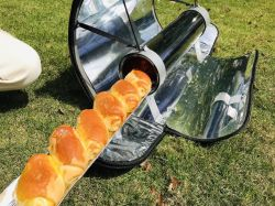 Portable Forno Solar Churrasqueira