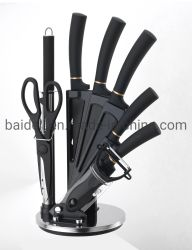 9PCS PP 플라스틱 손잡이 식칼은 취사 도구를 위해 놓았다