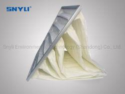 Hete-verkoop luchtfilterzak / En779 F8-luchtzak Filter glasvezel/synthetische vezel voor HVAC-systeem