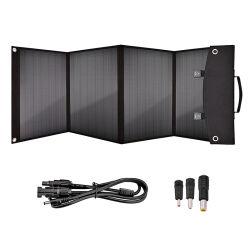 Più nuovo comitato solare portatile 100W della fabbrica 2020 per la centrale elettrica dell'esploratore pieghevole noi caricatore solare della pila solare con le uscite del USB per i telefoni