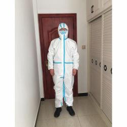 Protección Personal de seguridad de las prendas de vestir traje de protección para uso médico