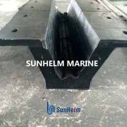 Guardabarros de caucho cilíndrica chino Sunhelm guardabarros marina de caucho sólido de los guardabarros para Marina/Wharf