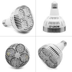 تعمل تقنية LED عالية الإخراج على زيادة الإضاءة بمعدل 120 وات في الإضاءة مصباح بمصباح مع مادة من الألومنيوم