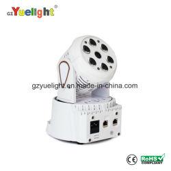 إضاءة LED المرحلة 6 حزم مع ضوء رأس متحرك بالليزر مصباح LED لمصباح الرأس المتحرك LED رأس متحرك لمدة ضوء Night Club Disco KTV
