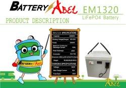 Batería recargable de litio de Auto de la estación de carga