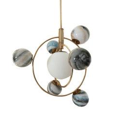 [ميلكي وي] [سلر سستم] تصميم [بندنت لمب] ثريا جدي غرفة نوم مصباح