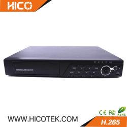 تصميم Hico أحدث تصميم غلاف فريد 8CH 4K بدقة 8 ميجا بكسل Ahd TVi مسجل فيديو رقمي DVR Xvr HVR لكاميرات CVI IP