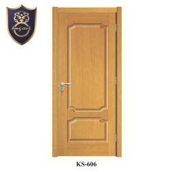 Keralaの家の単一デザイン木製の区分のドアのパネル木ドア