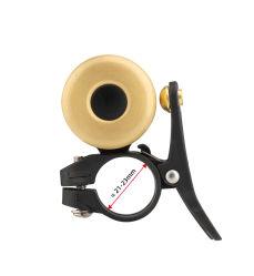 Klok van 2 van de Stem van de Hoorn van de Legering van het Koper van het Stuur van de Klok van de Fiets van Rockbros Ultralight Klassieke Luide Correcte Kleine en Draagbare van de Ring MTB van de Weg Toebehoren van de Fiets