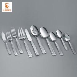 Polissage miroir en acier inoxydable 304 de la Coutellerie Cuillère/bras de fourche/La vaisselle de couteau
