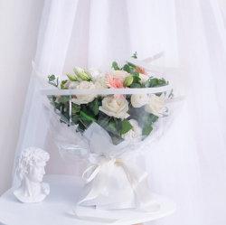 Gran cantidad de flores de borde de oro del papel de embalaje resistente al agua Floristería envoltura de papel film para la Flor