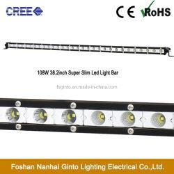 26mm Micro Profil 38.2pouces 108W CREE LED Voiture Barre de feux de conduite hors route (GT3520-108W)