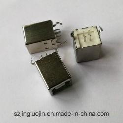 Piezas de la impresora USB 2.0 tipo B el conector