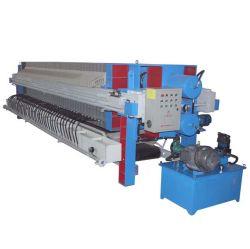 Tire de la Cámara de hidráulico automático del filtro de placa del fabricante de prensa