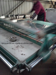 Aluminium clair Verre d'aération de miroir de 5mm bord poli