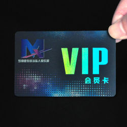 L'adhésion VIP de promotion de cadeaux de fidélité Carte à puce en PVC en plastique