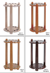 Le bois avec finition Billard Rack Cue