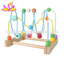 Melhor Venda Intelligence Aprendizagem Precoce brinquedos de madeira Cordão de String para filhos de Puxar Toy W11b258