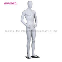 Пластиковый презентационный манекен поставщиков яркий белый цвет мужских моделей для продажи
