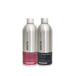 に扱われた毛のための有機性ケラチンの処置のシャンプーそしてコンディショナー