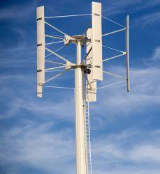 5kw net of van /Alternator van de Turbogenerator van de Wind van de As van het Net Verticaal Systeem voor het Gebruiken van het Huis wordt gebonden die