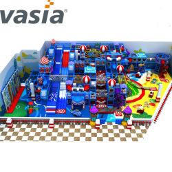 Les enfants de jeux intérieure commerciale Les prix des équipements de terrain de jeu en plastique bon marché pour les enfants du château de Soft Play Diapositive