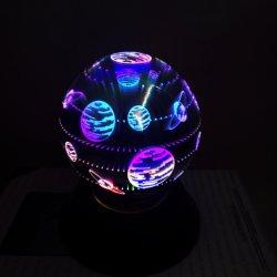 3D фейерверк ночной свет, стекло лампы волшебный мяч Crystal