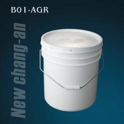 20L 5gallon Plastikeimer mit Kappe und Griff B01-Agr