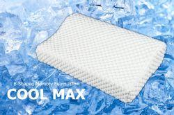 Neuer Entwurfs-super kühle B-Geformte Form-Speicher-Schaumgummi-Kissen (YFP019)
