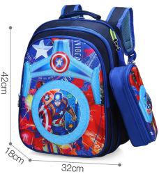 École de commerce de gros sac sac à dos de Grade 3-6 caricature avec sac de crayon