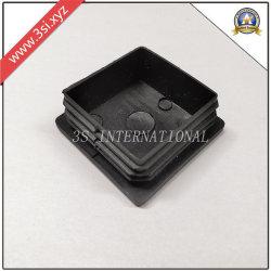 Пластиковый черный квадрат торцевую крышку трубки трубки вставьте (YZF-I001)