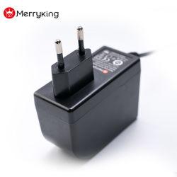 EU 플러그 AC 접합기 LED 책상용 램프를 위한 창조적인 전력 공급 12V 24V 1A 2A 3A 힘 접합기