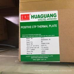 TPU Huaguang placa térmica CTP