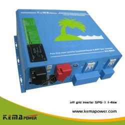 SPG-II بقدرة 4 كيلو واط بعيدًا عن الشبكة موجة جيبية صافية من التيار المستمر إلى محول التيار المتردد العامل بالطاقة الشمسية