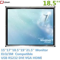 Tutti in un USB infrarosso industriale del calcolatore 18.5inch Openframe Capaicitive 10 punti di Touchmonitor esterno impermeabilizzano