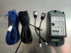 AC80V-220V de automatische Knoop van het Handvat van de Sensor van de Straal van de Veiligheid van de Exploitant van de Schuifdeur