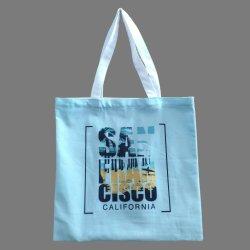 Цифровой Печати магазинов женская сумка из хлопка из полиэфирного волокна
